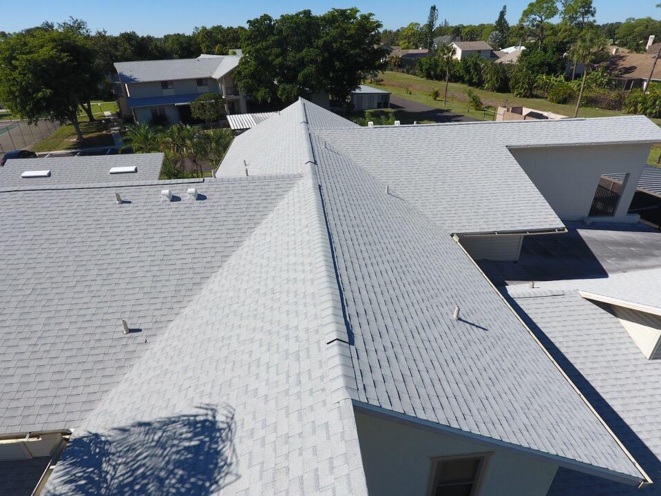 shingle roof communities close up